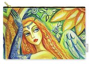 Fairy Leda And The Swan Carry-all Pouch