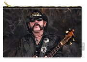 Lemmy Kilmister With Guitar Carry-all Pouch