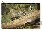 Leopard In The Forest Carry-all Pouch