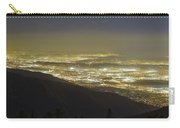 Lights Of Los Angeles, California Carry-all Pouch