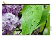 Lilac Drops Carry-all Pouch