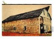 Lime Stone Barn Carry-all Pouch by Julie Hamilton