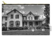 Lincoln Cottage In Black And White Carry-all Pouch
