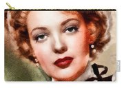 Linda Darnell, Vintage Hollywood Actress Carry-all Pouch