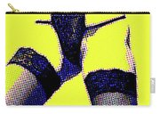 Lingerie Tease Pop Art Carry-all Pouch