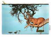 Lioness In Africa Carry-all Pouch