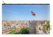 Lisbon Castle Flag Carry-all Pouch