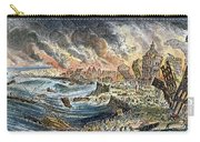 Lisbon Earthquake, 1755 Carry-all Pouch