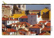 Lisbon View Carry-all Pouch by Carlos Caetano