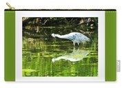 Little Blue Heron Fishing Carry-all Pouch