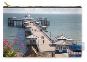 Llandudno Pier North Wales Uk Carry-all Pouch