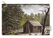 Log Cabin, 1826 Carry-all Pouch