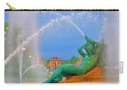 Logan Circle Fountain 1 Carry-all Pouch by Bill Cannon