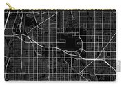 Long Beach California Usa Dark Map Carry-all Pouch