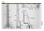 Long Neck Banjo Patent From 1964 Carry-all Pouch