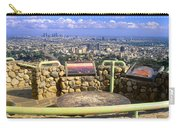 Los Angeles Skyline From Mulholland Carry-all Pouch