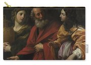 Lot And His Daughters Leaving Sodom Carry-all Pouch