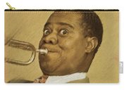 Louis Armstrong, Music Legend Carry-all Pouch