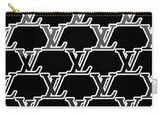 Louis Vuitton Black Carry-all Pouch