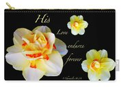 Love Endures Forever Carry-all Pouch