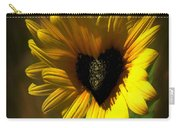 Love Sunflower Carry-all Pouch