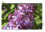 Lovely Lilacs Carry-all Pouch