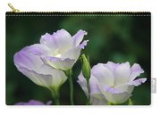 Lovely Lisianthus Carry-all Pouch
