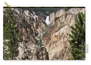 Lower Falls From Artist Point In Yellowstone National Park Carry-all Pouch