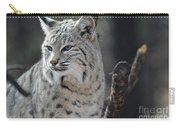 Lynx Looking Around At His Environment Carry-all Pouch