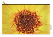 Macro Shot Of A Yellow Flower. Carry-all Pouch