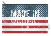 Made In Alledonia, Ohio Carry-all Pouch