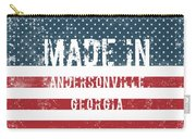 Made In Andersonville, Georgia Carry-all Pouch