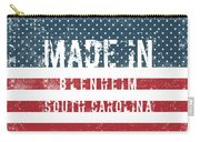 Made In Blenheim, South Carolina Carry-all Pouch
