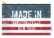 Made In Constableville, New York Carry-all Pouch