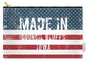 Made In Council Bluffs, Iowa Carry-all Pouch