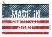 Made In Crawfordsville, Arkansas Carry-all Pouch