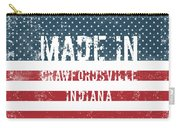 Made In Crawfordsville, Indiana Carry-all Pouch