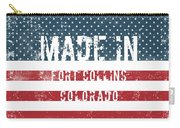 Made In Fort Collins, Colorado Carry-all Pouch