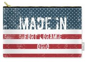 Made In Fort Loramie, Ohio Carry-all Pouch