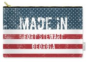 Made In Fort Stewart, Georgia Carry-all Pouch