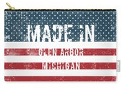 Made In Glen Arbor, Michigan Carry-all Pouch