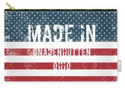 Made In Gnadenhutten, Ohio Carry-all Pouch
