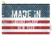Made In Grand Island, New York Carry-all Pouch