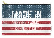Made In Greens Farms, Connecticut Carry-all Pouch