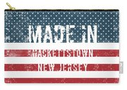 Made In Hackettstown, New Jersey Carry-all Pouch