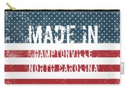 Made In Hamptonville, North Carolina Carry-all Pouch