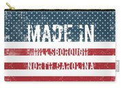 Made In Hillsborough, North Carolina Carry-all Pouch