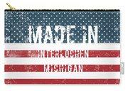 Made In Interlochen, Michigan Carry-all Pouch