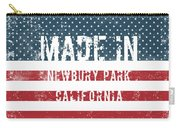Made In Newbury Park, California Carry-all Pouch