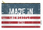 Made In Newcastle, Utah Carry-all Pouch